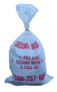 Secura Bags for Document Destruction